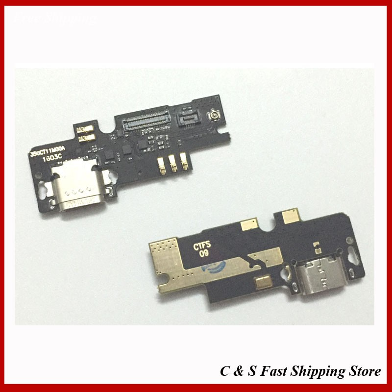 Original new For Xiaomi Mi4c Mi 4c M4c 5.0 inch Phone USB Charge Charging Port Board Flex Cable Dock Connector Parts