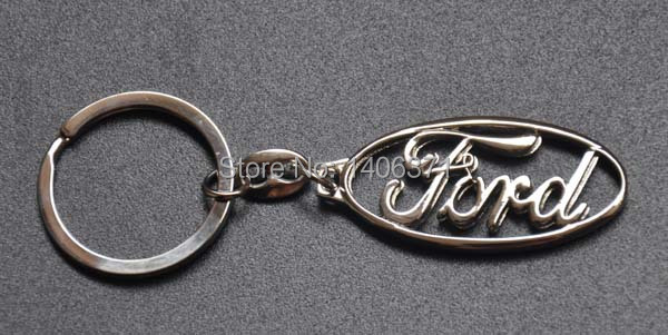 Car Keyring Keychain Key Chain Keyfob Ring Free shipping For FORD Focus Escort Fiesta Galaxy Zetec Mustang Thunderbird Taurus(China (Mainland))