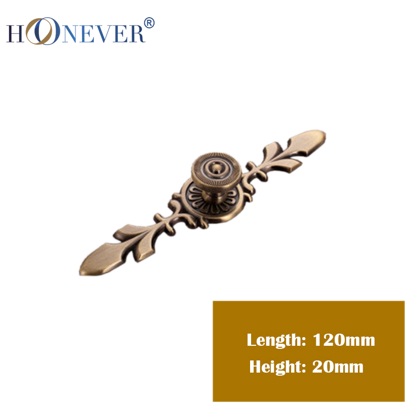 5PCS Zinc Alloy Handles And Knobs Continental Knobs And Handle Rural Red Bronze Kitchen Cabinet Drawers Handle And Knobs 120mm<br><br>Aliexpress