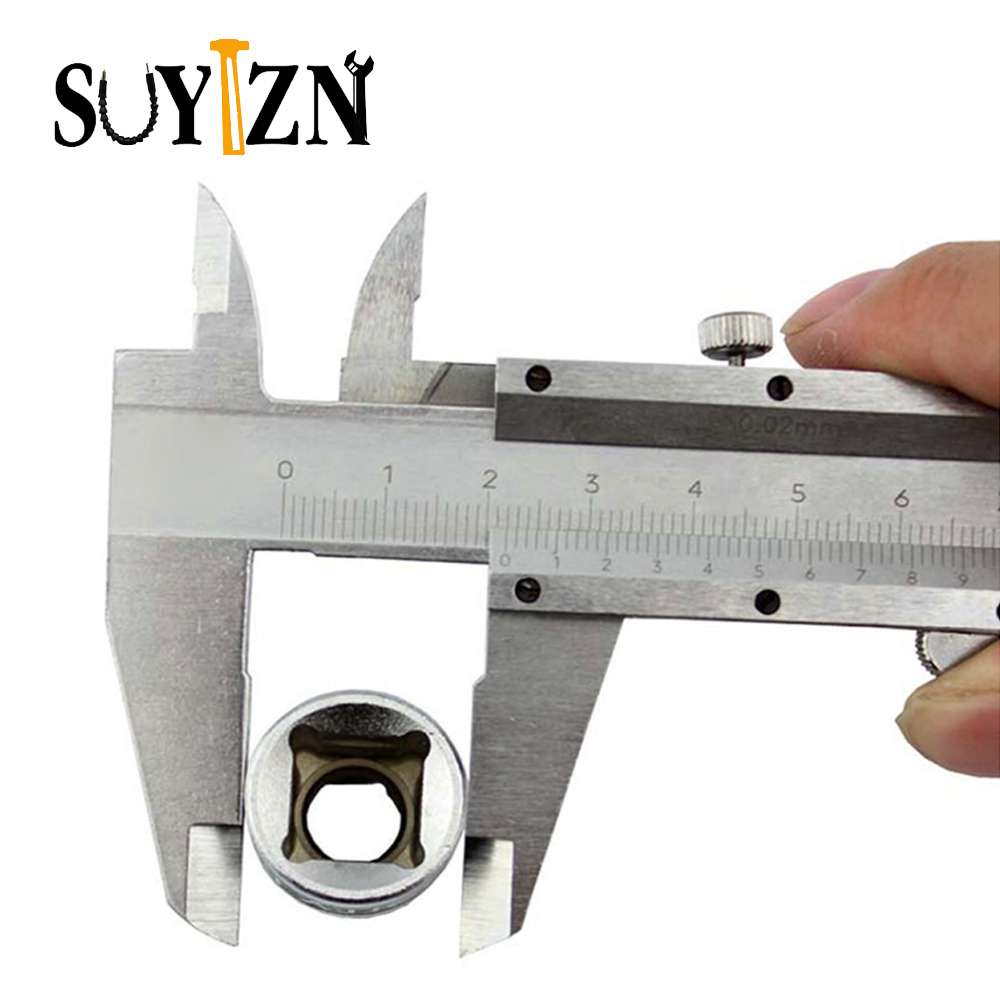 "Caliper Carbon Steel Vernier Calipers 6"" 0-150mm/0.02mm Measuring Tool Metal Calipers Paquimetro Diagnostic Outside Tool(China (Mainland))"