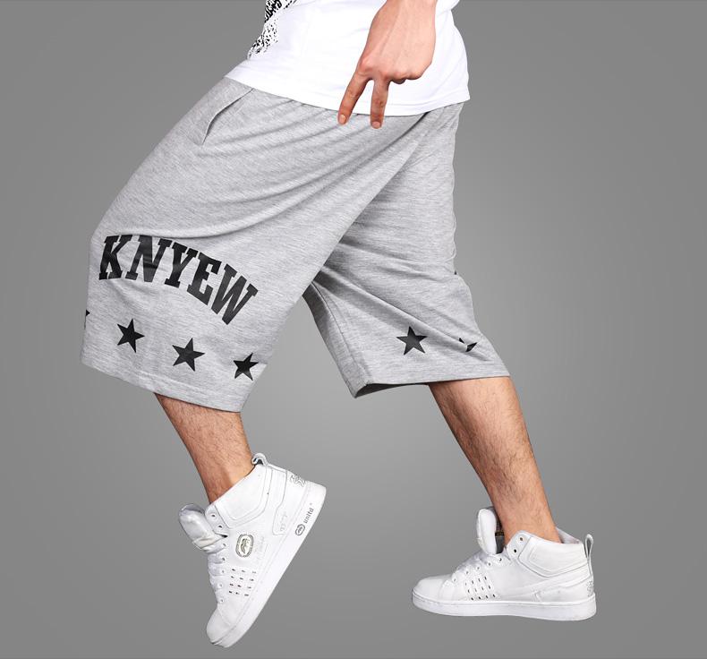 Top Quality Brand Men Hip Hop Shorts Casual Sports Running Shorts Loose Street Dance Basketball Sweatpants Plus Size 4XL(China (Mainland))