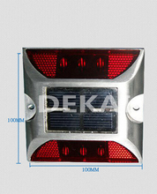 reflective solar led road stud light solar road stud road marker(China (Mainland))