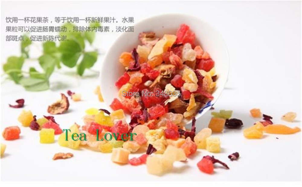 Suitable tea to fit detox!Green dried fruit for tea mixed flavor for personal beauty and health care paris champs top quality(China (Mainland))