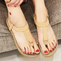 G.L.BROTHER Gladiator Sandals Women Flat Summer Shoes Woman Sandals Beach Flip Flops Women Sandalias Mujer 2017 Ladies Shoes