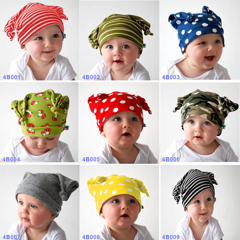 Spring Autumn lovely Double head cap children kid Baby Infant knit hat Photo Props Kids Girl Gift - First Outdoor Choice store