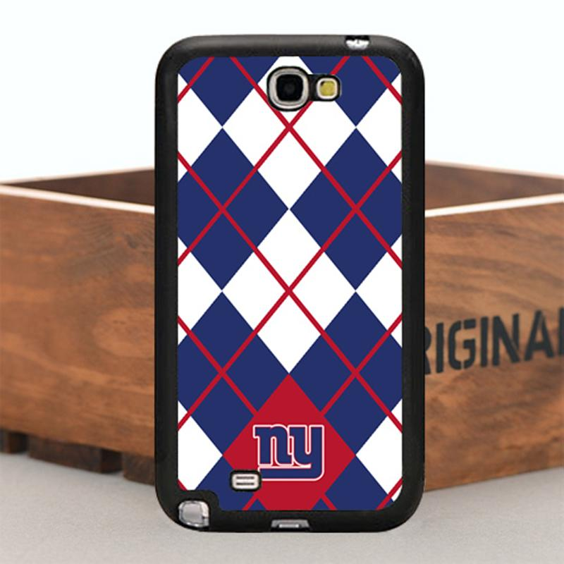 Best Durable TPU Case For Samsung Note2 Rubber Mobile Case Cover Design for Steelers New York Giants Football Teams(China (Mainland))