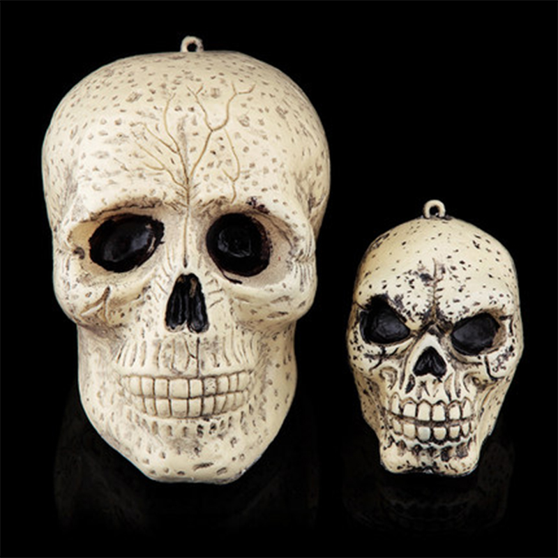 Set of 2pcs April Fools Day Bar KTV Halloween Party Decoration Skull Head, JSF-Halloween-005(China (Mainland))