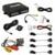 10-Color Car 4-sensor Parking Sensor With CCD 4-LED Night Vision Camera Rear View Reversing System #FD-1687