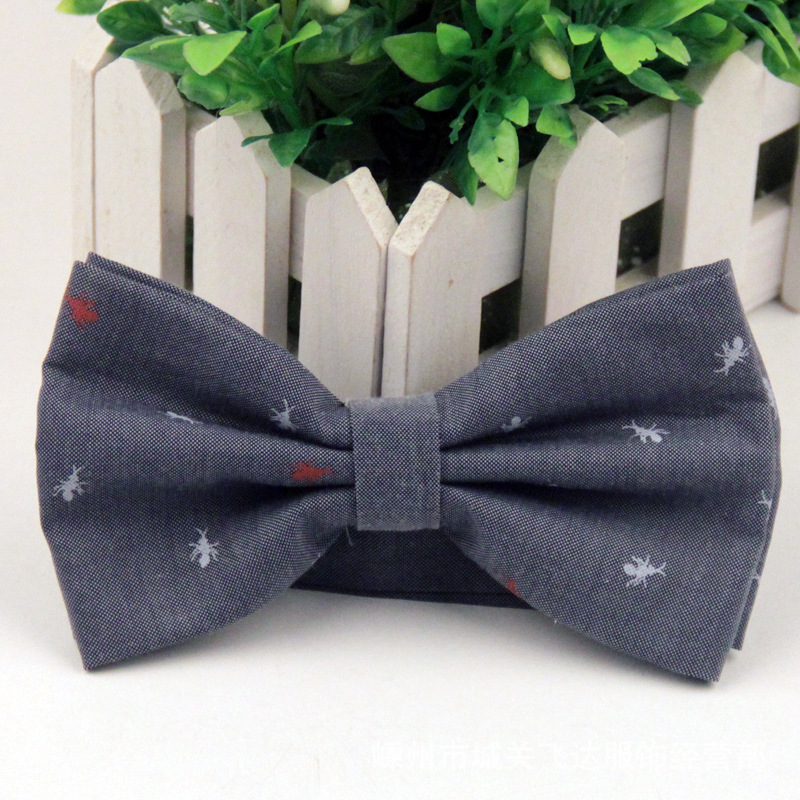 New 2015 Men s Bow Tie British Style Cotton Bowtie for Men Casual Gravata Borboleta of