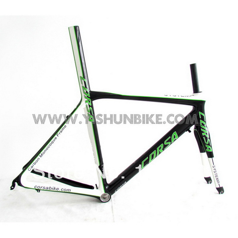 High Performance, CORSA carbon road bike frame, racing bicycle frame, YS-FM032(China (Mainland))