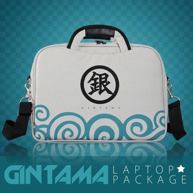 Gintama anime Silver Soul Sakata Gintoki Laptop bag fashion backpack messenger bag