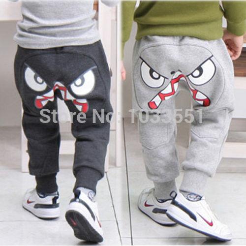 Popular Kids Boys Girl Unique Clothes Harem Pants Trousers Cartoon Boys Pants Nununu Cross Star Children