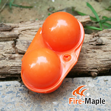 Fire Maple FMP-811 Outdoor Camp Portable Folding Little Shatter-proof egg storage box Egg Carrier with 2 cavity 45g