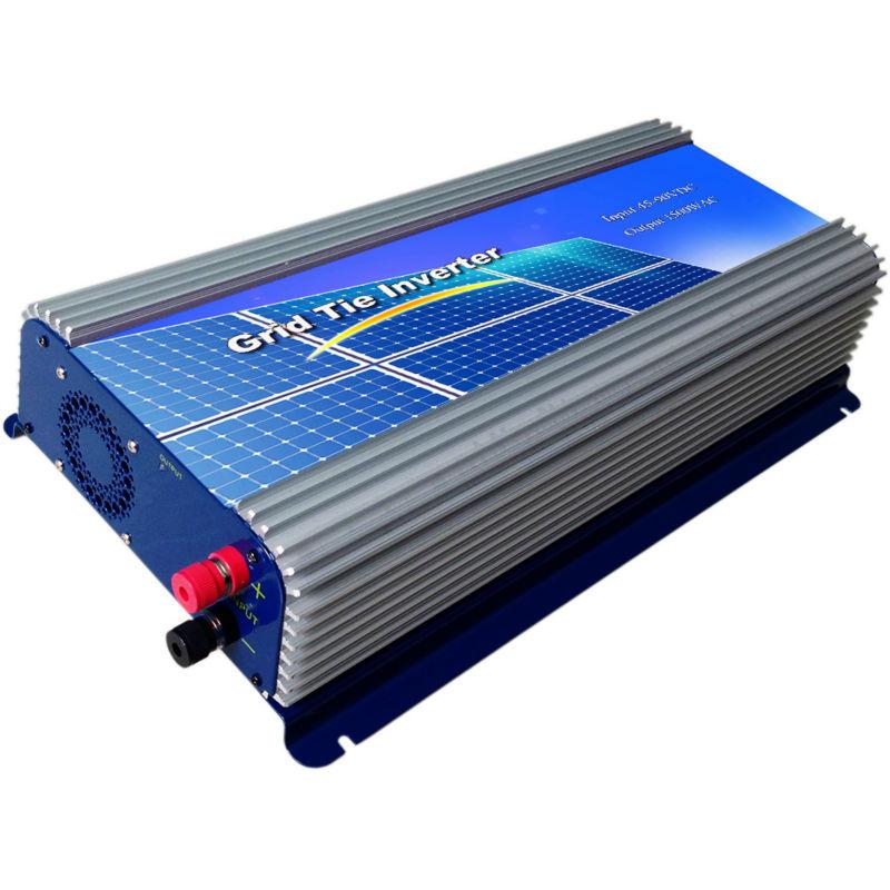 45-90VDVDC ,1500W Solar Grid Tie Inverter Connect Solar Panel ,Hight Efficiency,90-130VAC, 50Hz/60Hz, pure sine wave(China (Mainland))