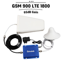 Boost 4G Data Voice GSM 900 LTE 1800 Dual Band Mobile Phone Repeater GSM 900 1800