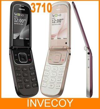 3710 original Nokia Flip 3710 unlocked cell phone 3G 3.2MP Camera bluetooth freeshipping