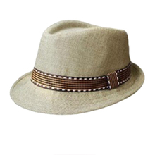 Boys Girls Kids Summer Hippie Unisex Black Jazz Wool Trilby Bowler Fedora Panama Hat Gangster for your ClothsCap(China (Mainland))