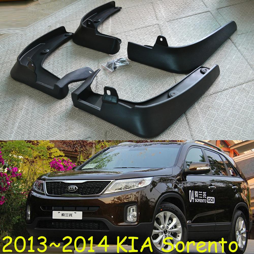 Kia Sorento mudflaps,2004~2008/2009~2012/2013~2016!4PCS/SET,SUV,Sorento Mudguards;ABS;Free ship!(China (Mainland))