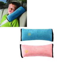 High Quality 1pc Baby Children Car Safety Seat Belt Pillow Strap Soft Shoulder Pad Headrest (China (Mainland))