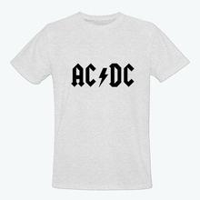 Popular Serious ACDC Men T Shirt Customize Personality T Shirt Men ACDC Rock Top Tees Free