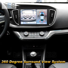 HD 360 degree Car bird view parking system full view camera system with 4 cameras.(China (Mainland))