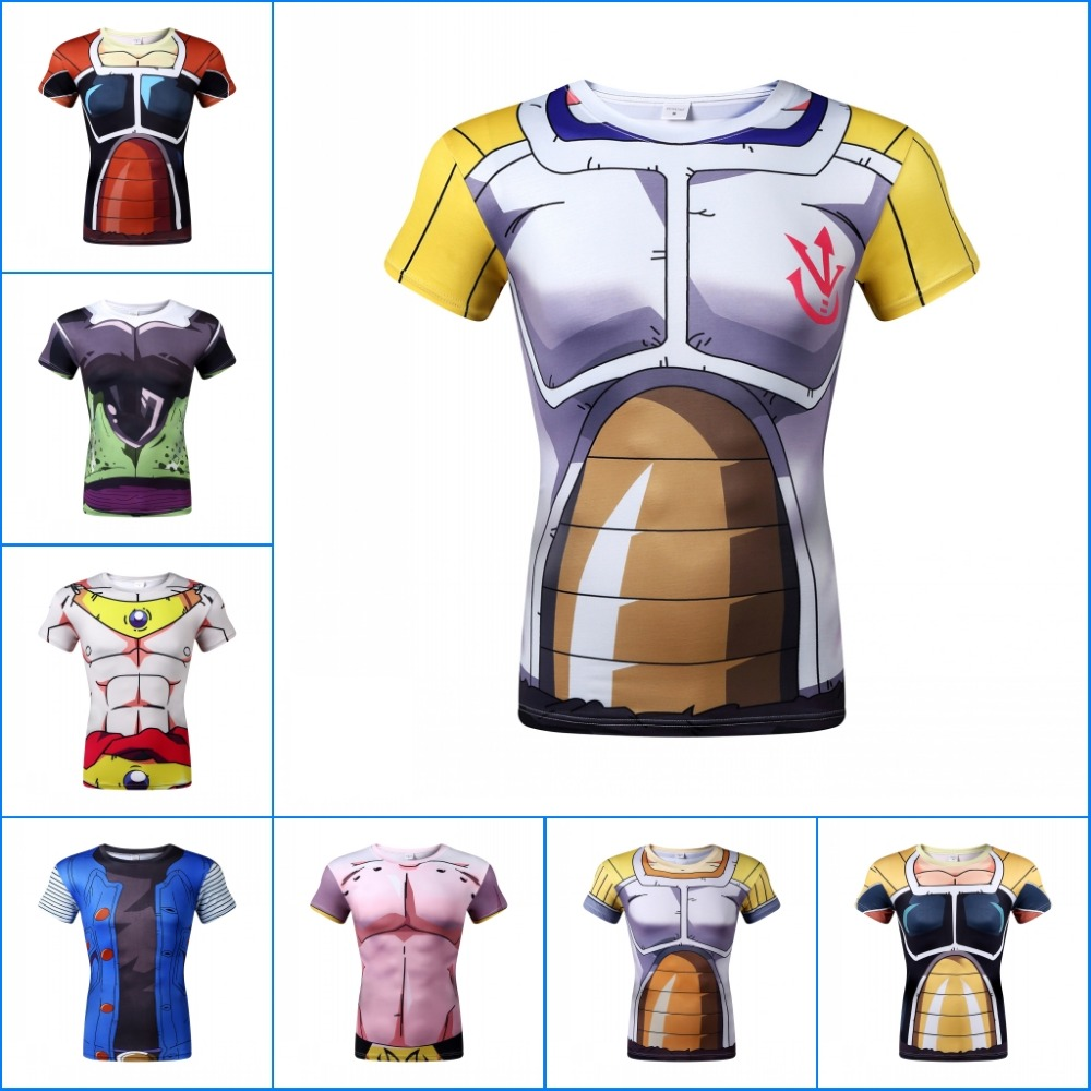 Hot sale Creative Cool cartoon dragon ball super saiyan t shirt men short sleeve sport t shirts summer casual tops tees(China (Mainland))
