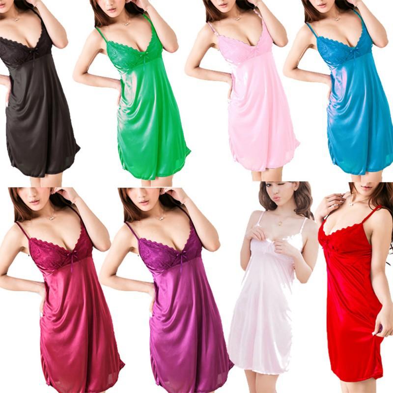 Women Sexy Lingerie Dress Underwear Babydoll Pajama Sleepwear