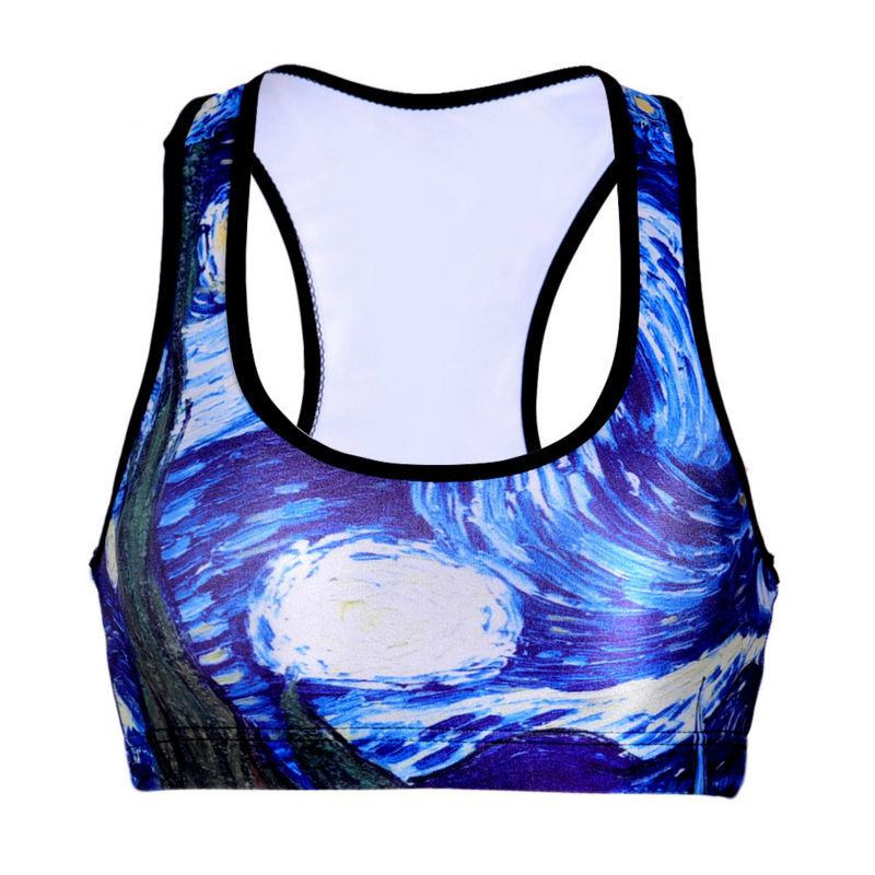 New Brand Quick Drying Shockproof Sports Bra Women Fitness Underwear Running Sleep Vest Crop Top Colete