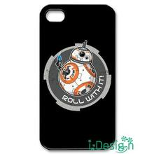Fit for iphone 4 4s 5 5s 5c se 6 6s plus ipod touch 4/5/6 back skins cellphone case cover BB-8 drone starwars