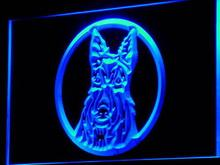 i688-b Scottish Terrier Aberdeen Scottie Dog Light Sign Wholesale Dropshipping(China (Mainland))