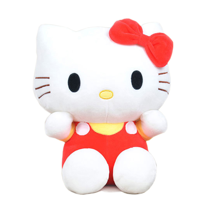 20cm Kawai hello kitty plush toys High-quality Stuffed dolls for girls kids toys gift action & toy figure & hobbies(China (Mainland))