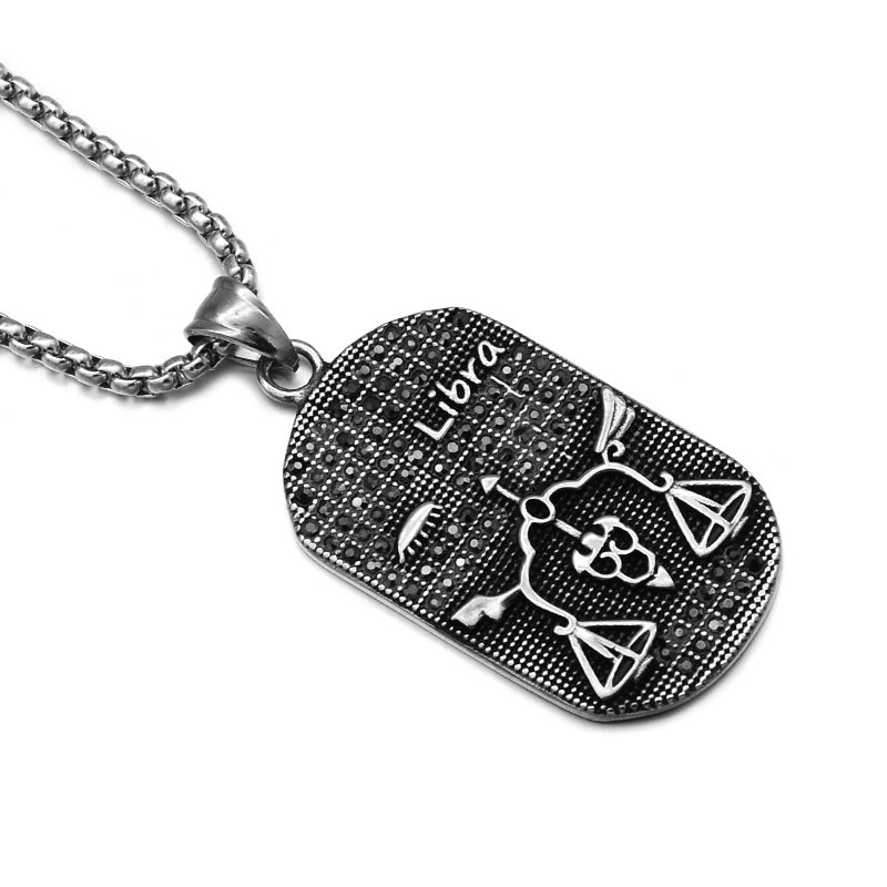 Zodiac Constellation Dog Tag Stainless Steel Men S Women S: Libra Dog Promotion-Shop For Promotional Libra Dog On