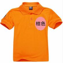 Promotions! 2-14 years summer brand kids polo shirt 100% cotton boys girls children Sport cheaper tees short sleeve clothing