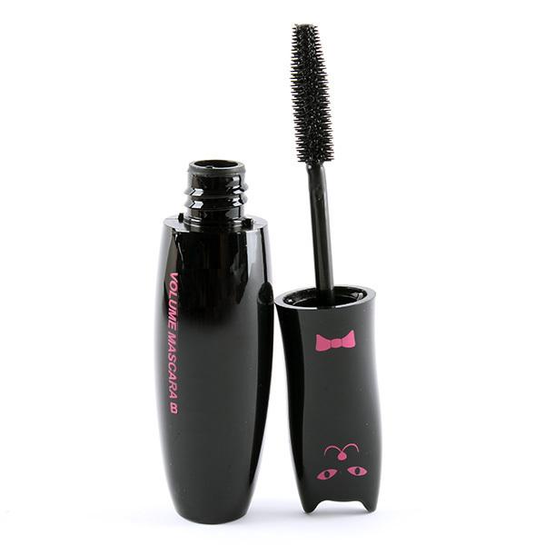 Retail Wholesales Black Mascara Volume Long Curling Eyelash Extension Grower Fiber Makeup Cosmetic Mascara Liquid(China (Mainland))