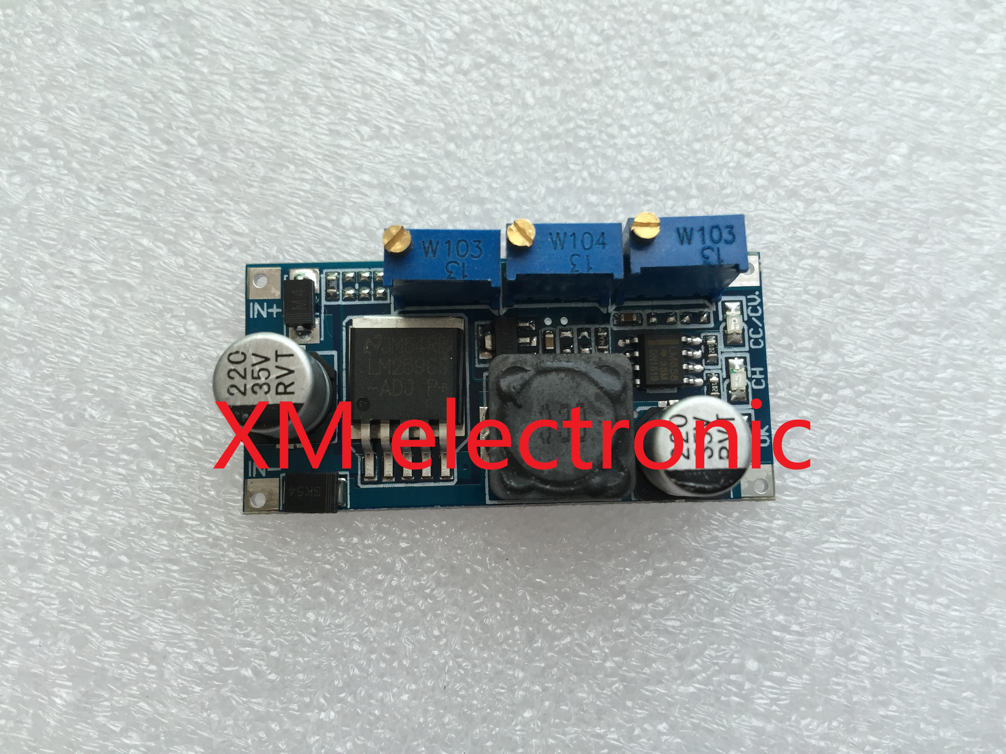 1PC LM2596 LED Driver DC-DC Step-down Adjustable CC/CV Power Supply Module(China (Mainland))