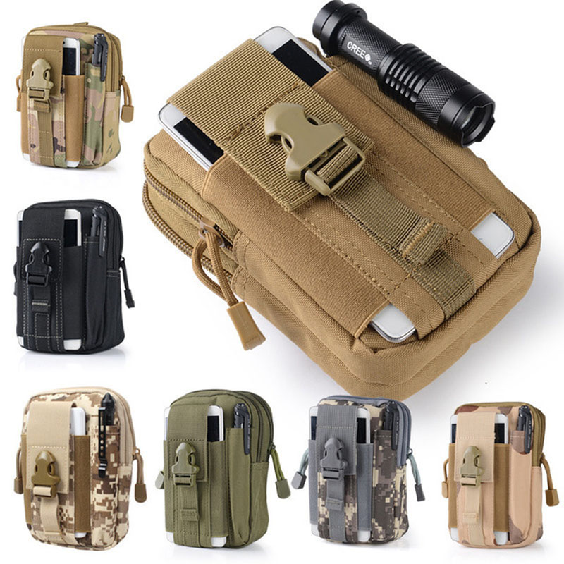 Outdoor Molle Waist Pack Bag Sport Pouch Mobile Phone Purse For Highscreen ICE 2 / ice2 Flip Cover Case Cellphone Shell housing(China (Mainland))