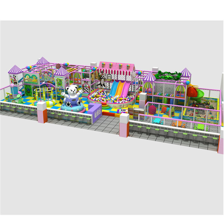 Type water slide stylish attractive park playground for Indoor play structure prices