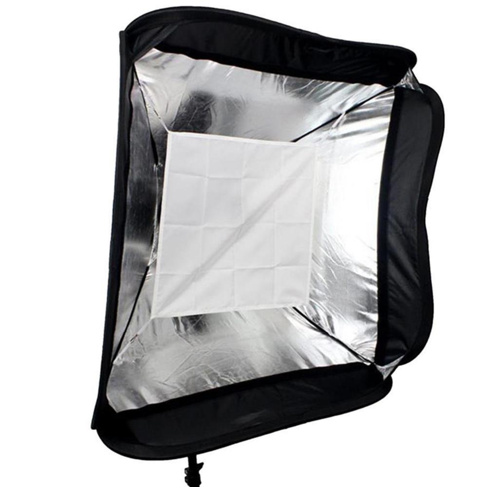 ถูก FloadingปรับGodox 60x60เซนติเมตรแฟลชSoftboxชุดกับS-TypeยึดเวนเมาH Olderสำหรับกล้องสตูดิโอถ่าย