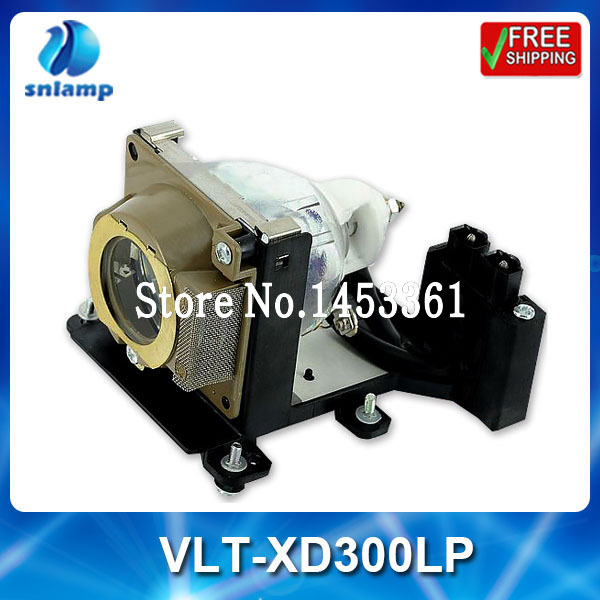 Cheap compatible  projector lamp bulb VLT-XD300LP for XD300 XD300U<br><br>Aliexpress