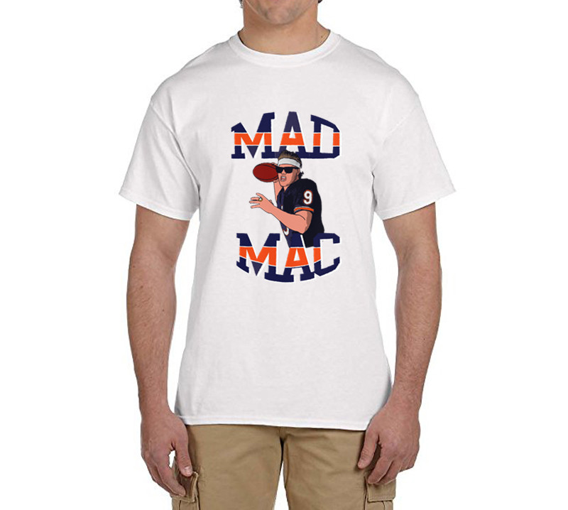 Jim 'Mad Mac' McMahon men T-Shirt 100% cotton t shirts Men's gift for fans 0216-31(China (Mainland))