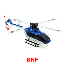 Original XK K124 BNF Without tranmitter EC145 6CH Brushless motor 3D 6G System RC Helicopter Compatible with FUTABA S-FHSS(China (Mainland))