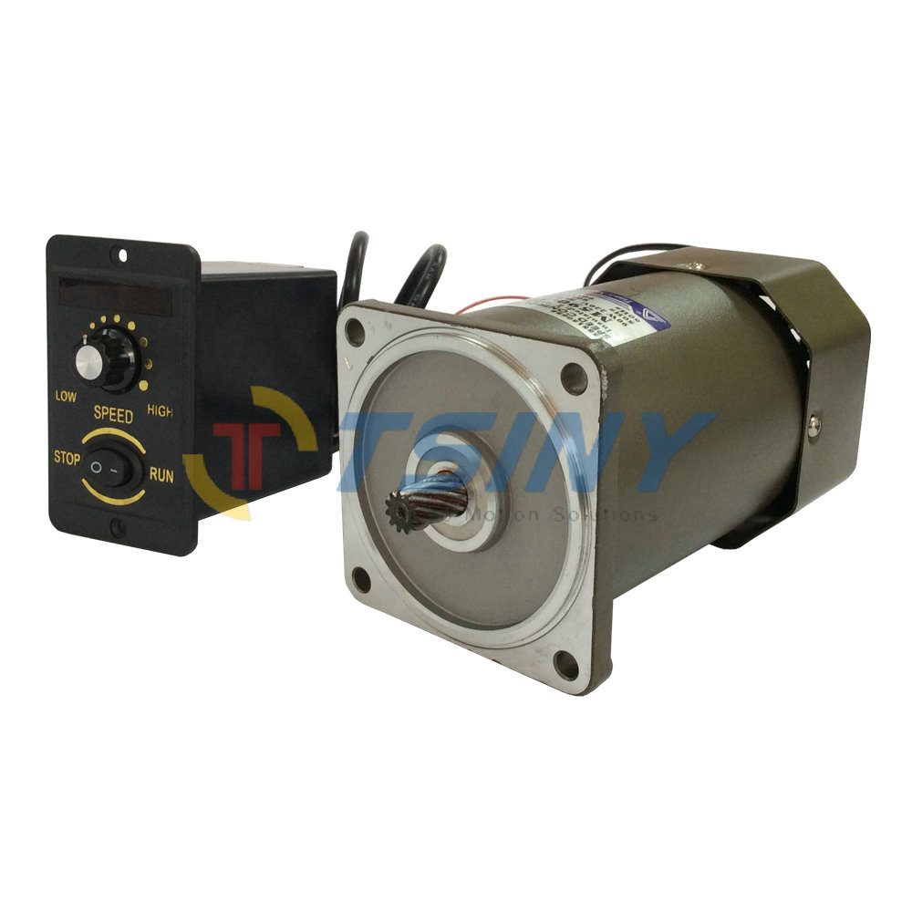 Ac motor 90w 220v high speed high torque electric motor Speed control for ac motor
