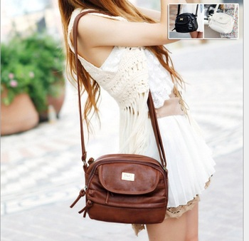 2015 new Hot sale casual all-match tassel zipper women bag women messenger bags High Quality Crossbody Bags