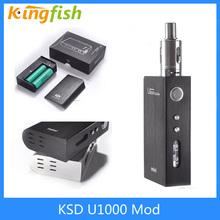 2015 e cig mod VV VW box mod KSD U1000 vape mod Yihi SX330 Chip mod 10w-100w e-cigarette mod 18650 mod