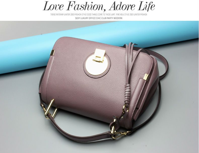 2017 Hot Style Woman Genuine Leather Shoulder Bags High Quality Real Leather Ladies Handbags Cross-body Bags for Girl Student
