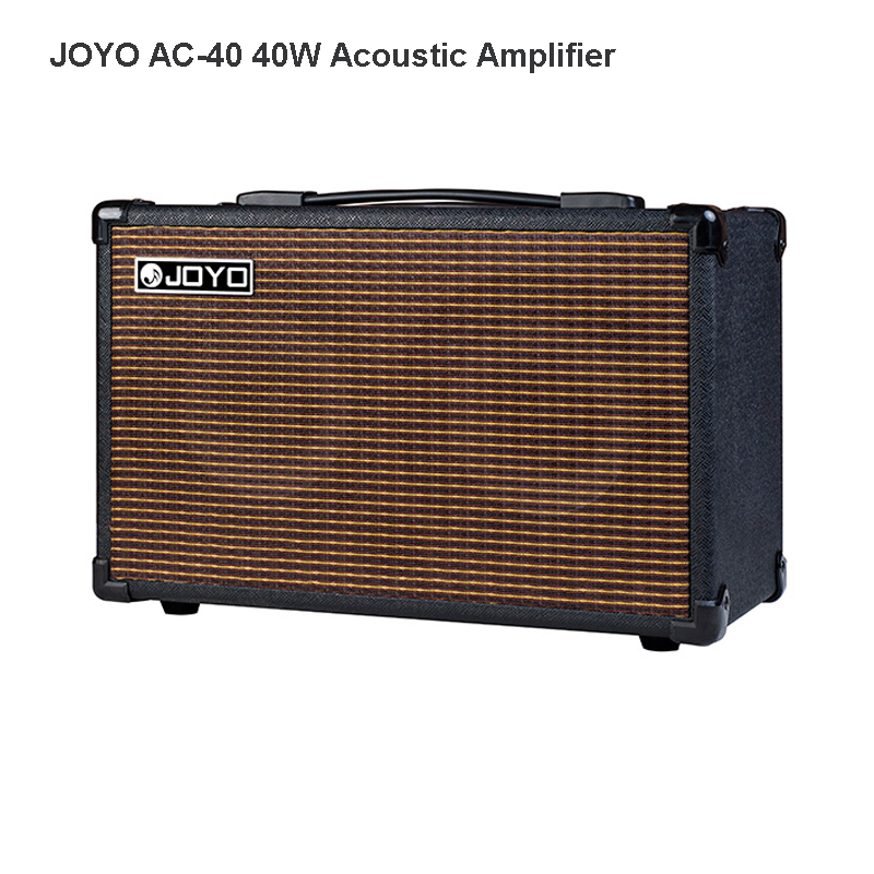 JOYO AC-40 40W Acoustic Amplifier for Guitars 3 built-in digital effects of Chorus Delay Reverb rich mid low frequencies AMP(China (Mainland))