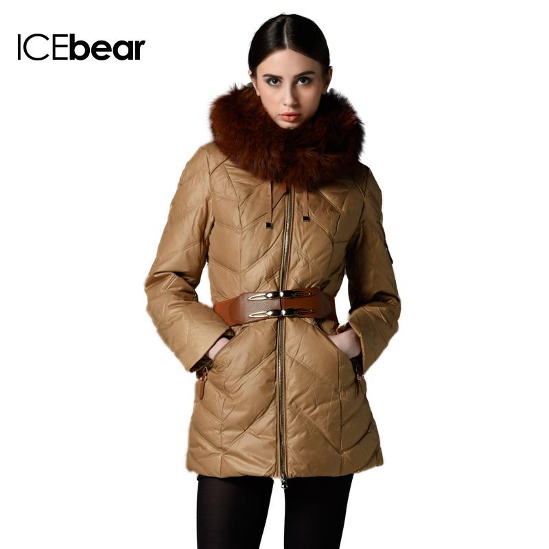 Женские пуховики, Куртки ICEbear