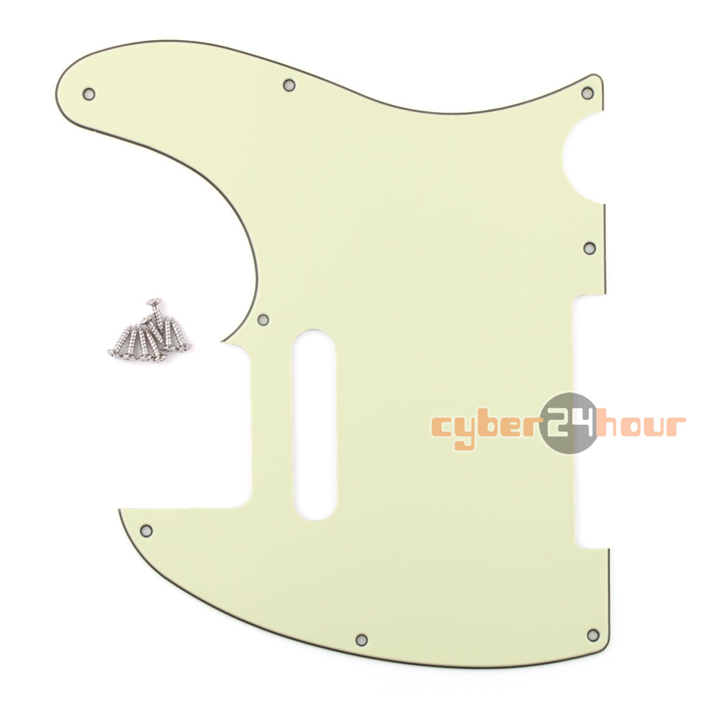 Hot 3Ply Vintage Tele Style Guitar Pick Guard Mint Green Fits Telecaster Guitar(China (Mainland))
