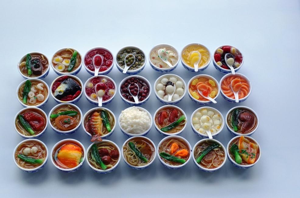5 PCS Promotion sale multi medium fridge and porcelain food style magnet refrigerator stickers magnets(China (Mainland))