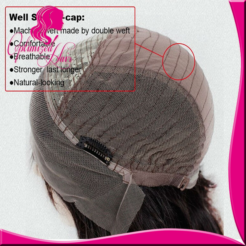 8A Glueless Full Lace Human Hair Wigs For Sexy Women Brazilian Virgin Hair Wigs Wet Wavy Beyonce Lace Front Wigs With Baby Hair<br><br>Aliexpress